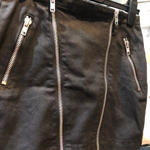 Lovers & Friends Black Short Skirt Size 27 NWOT